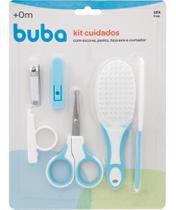 Kit Cuidados com o Bebê Buba Baby Higiene Infantil Rosa e Azul -