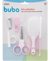 Kit Cuidados Com O Bebê Rosa - Buba 5239 -