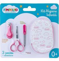 Kit Cuidados Higiene Menicure Para Bebê Necessaire Pimpolho - Anjo Da Mamãe