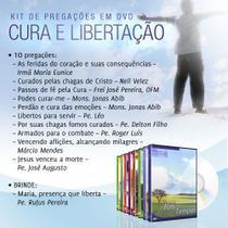 Kit cura e libertação (palestras em dvd) - Armazem