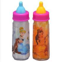 Kit de 2 Mamadeiras Mágicas - Princesas Disney - Toyng -