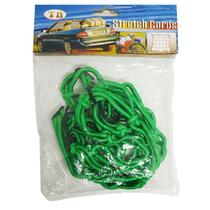 Kit de 4 Redes para Bagageiro tipo Aranha, Verde 25 x 25cm - Stretch Cords