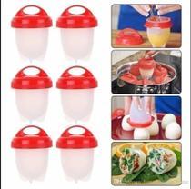 Kit De 6 Formas De Silicone Para Cozinhar Ovos - MADALOZZO