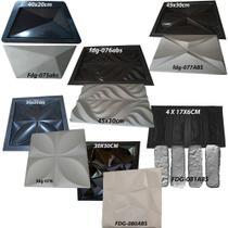 Kit de 6 Formas para Gesso/cimento em Abs de 1,5mm. conforme foto do anuncio. - Digital Art Rio