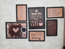 kit de 6 quadros - Decore Mosaicos