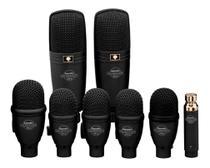 Kit De 8 Microfones Superlux Drk F5 H3 P/ Bateria Percussão -