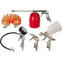 Kit de Acessórios Schulz 5 Peças Calibrador / Pistola de Pintura / Pulverizador -