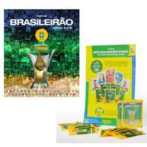 Kit De Álbum De Figurinhas - Campeonato Brasileiro e 6 Envelopes De Figurinha - Panini -