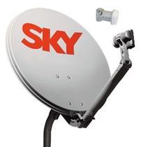 Kit De Antena Parabólica Sky 60 Cm -
