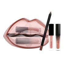 Kit de Batons Lip Set Huda Beauty Day Slayer  Venus -