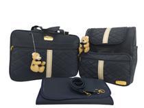kit de bolsa mala mochila de bebê de maternidade clara baby -
