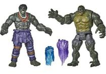 Kit De Bonecos Action Figures Hulk Abominável Gamerverse Nf - Hasbro