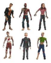 Kit De Bonecos Action Figures Zumbis Tipo Walking Dead A4 - Zombies Collectors