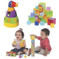 Kit de Brinquedos Educativos para Bebês Mercotoys -