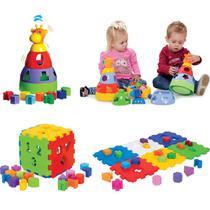Kit de Brinquedos Infantil e Educativo para Bebês - Mercotoys