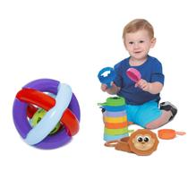 Kit de Brinquedos para Bebês de 6 meses - Mercotoys