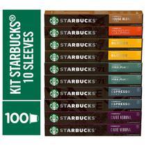 Kit de Cafés Mistos Starbucks by Nespresso - 100 cápsulas - Nescafé Dolce Gusto