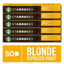 Kit de Cafés Starbucks Blonde Espresso by Nespresso - 5 caixas - Nescafé Dolce Gusto