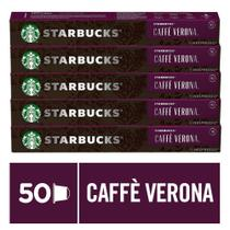 Kit de Cafés Starbucks Caffè Verona by Nespresso - 5 caixas - Nescafé Dolce Gusto