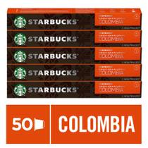 Kit de Cafés Starbucks Colombia by Nespresso - 5 caixas - Nescafé Dolce Gusto
