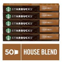 Kit de Cafés Starbucks House Blend Lungo by Nespresso - 5 caixas - Nescafé Dolce Gusto