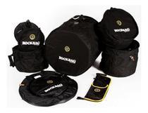 Kit De Capas Bags Bateria 7 Peças Rockbag Fusion Ii Rb22902b - Warwick
