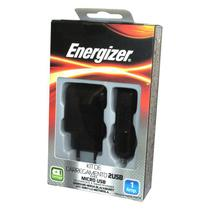Kit de Carregador Portátil Energizer - Preto -