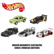Kit de Carrinhos Hot Wheels - 1:64 - Veículos Básicos - 5 Carrinhos Sortidos - Mattel -