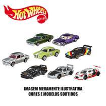 Kit de Carrinhos Hot Wheels - 1:64 - Veículos Básicos - 8 Carrinhos Sortidos - Mattel -