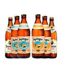 Kit de Cervejas de Trigo 06 unidades - Kits