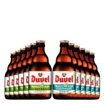 Kit de Cervejas Duvel Tripel Hop Lovers - 12 Unidades - Kits