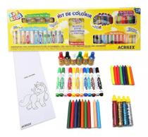 Kit De Colorir Art Kids Acrilex -