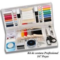 Kit De Costura Completo - Estojo Com 167 Peças - NYBC