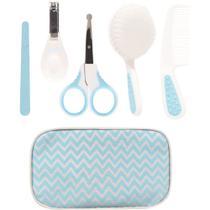 Kit de Cuidados Baby com Estojo Buba Azul -