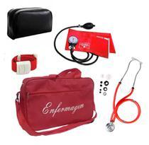 Kit de Enfermagem Aparelho de Pressão Com Garantia Top - Pamed