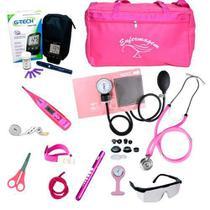 Kit De Enfermagem Com Glicosímetro G-tech Premium - Premium / G-Tech