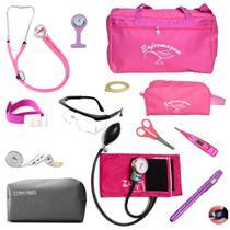 kit de enfermagem completo com medidor de pressão P.a.med -