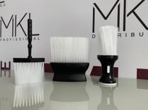 kit de espanadores para barbeiros e cabeleireiros para retirada de cabelos e pelos - Dompel