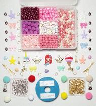 kit de fazer pulseiras miçangas infantil s - Armarinhos Lahr
