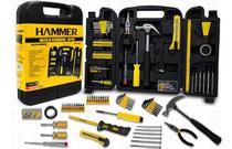 Kit de Ferramentas com Maleta Completo 142 peças Hammer KF-142 6 Meses de Garantia -