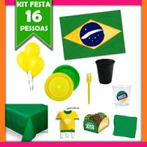 Kit de Festa Copa do Mundo - Festa Infantil - Festabox
