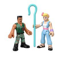 Kit de Figuras - Imaginext - Toy Story 4 - COMBAT CARL E BO PEEP - Mattel