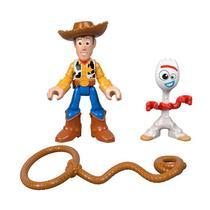 Kit de Figuras - Imaginext - Toy Story 4 - FORKY E WOODY - Mattel