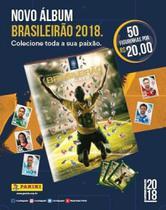 Kit de figurinhas campeonato brasileiro 2018: cartela + 10 envelopes (50 figurinhas) - Panini -