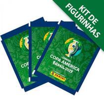Kit de Figurinhas CONMEBOL Copa América 2019 - 12 envelopes (60 figurinhas) - Panini