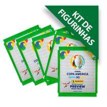 Kit de Figurinhas Conmebol Copa América Preview 2021 - Conté - Panini