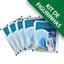 Kit de Figurinhas Frozen 2 Cristal - 12 envelopes (48 figuri - Disney