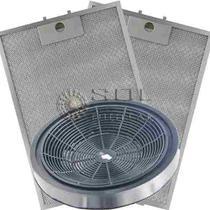 Kit de Filtros Metálico + Carvão para Depurador Electrolux Digital DE60T -