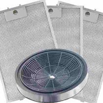 Kit de Filtros Metálico + Carvão para Depurador Electrolux Digital DE80T -