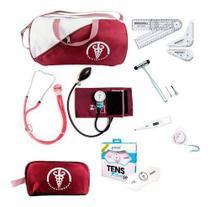 Kit De Fisioterapia Com Aparelho De Pressão Martelo E Tens - P.A.Med, G-Tech